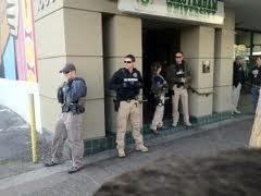Law Enforcement Raid